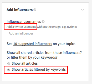 add-influencers